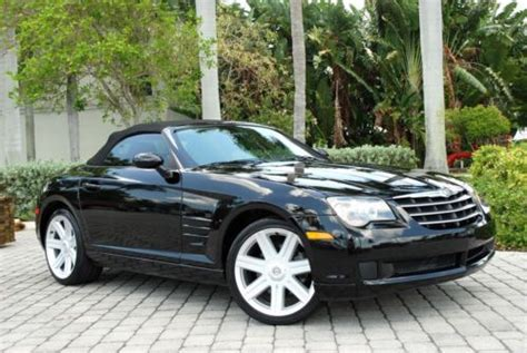 old car repair manuals 2006 chrysler crossfire roadster engine control buy used 2006 chrysler crossfire roadster convertible v6 6 speed manual leather cd in fort myers