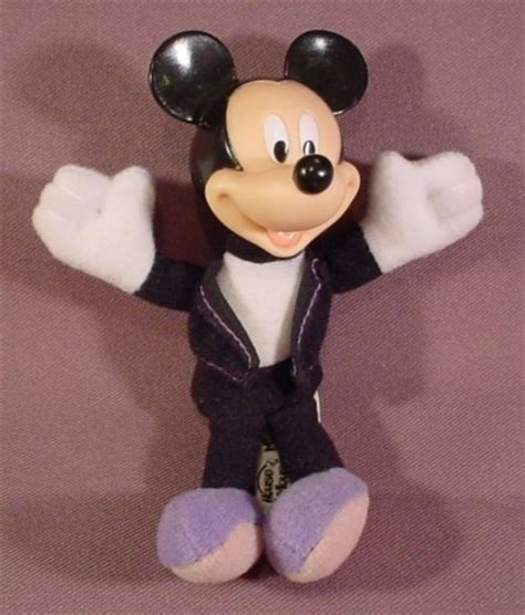 mickey mouse doll house disney s house of mouse plush mickey mouse doll figure 5 inches tall 2001 mcdonalds