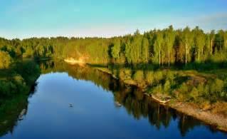 Russia landscape amo