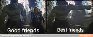 Good Friends Meme - good friends vs best friends 1 meme by truehulk62