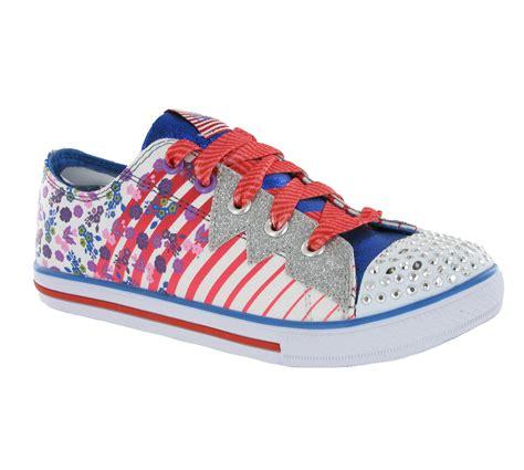 skechers light up shoes new skechers memory foam twinkle toes light up
