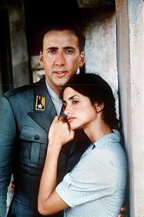 film nicolas cage et penelope cruz captain plays on emotions cage cruz tearjerker set on