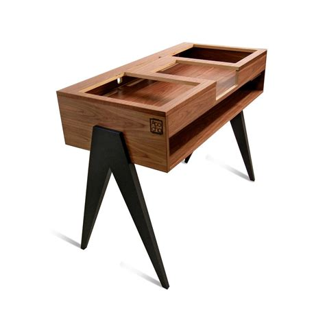Wooden Dj Table by The Dj Stand Atocha Design