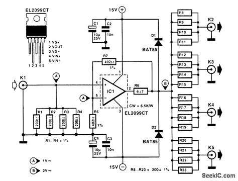 function generator power buffer lifier circuit