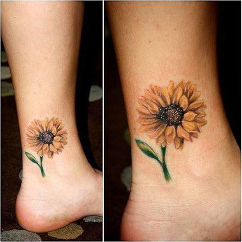 25 best ideas about sunflower tattoos on pinterest