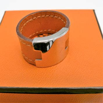 Clinique Pouch Orange Silver With Box shop hermes ring on wanelo