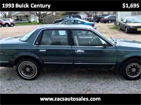 online car repair manuals free 1993 buick century security system 1993 buick century problems online manuals and repair information