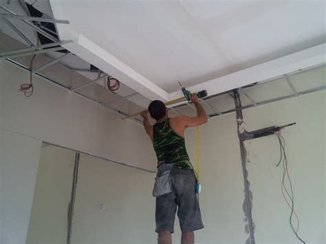 How To Fit A Plaster Ceiling by Kinrara Puchong Selangor Design And Build New Office