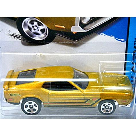 wheels 1971 ford mustang mach 1 global diecast direct