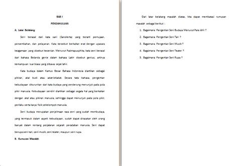 format makalah lengkap contoh makalah seni budaya lengkap contoh makalah kita