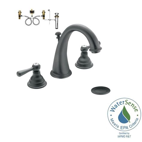 wrought iron bathroom faucet moen kingsley 8 in widespread 2 handle high arc bathroom
