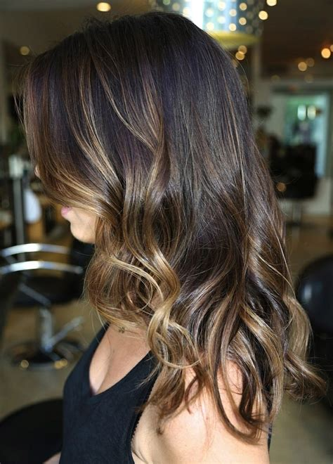 brunette ombres pictures love how the highlights are heavier around the face and