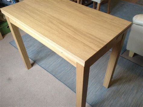 Low Dining Table Ikea Reduced Ikea Bjursta Extendable Table Oak Veneer Small Dining Table Or Desk Buyer To