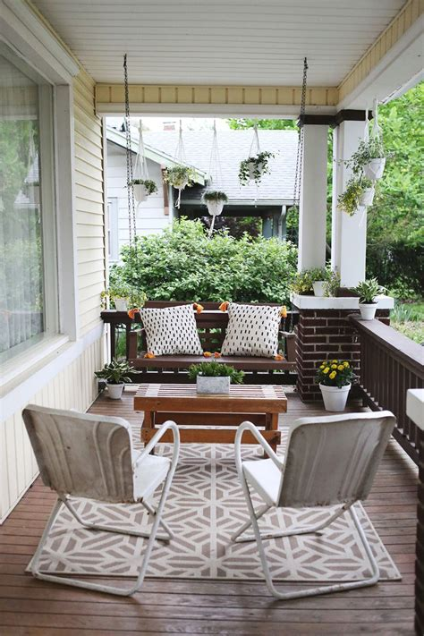 Southern Style House Plans With Porches elsie s front porch before after a beautiful mess