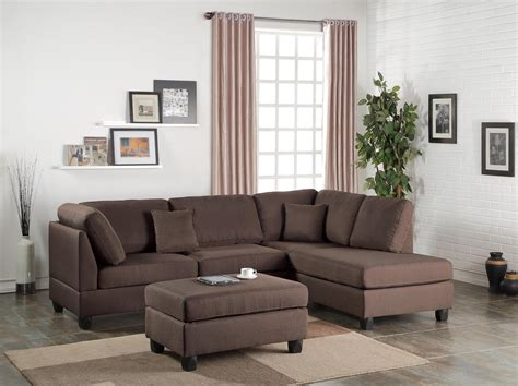 comfy couch co reviews p7608 sectional sofa ottoman 7608 poundex sectional