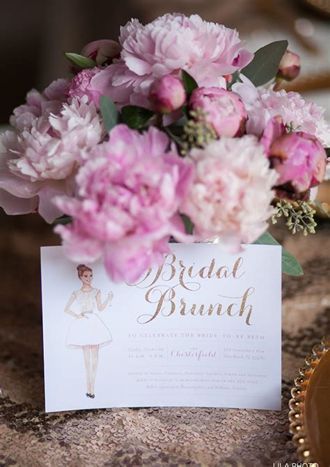 Bride And Groom Table Decor Gold And Pink Bridal Shower Bachelorette Shower 100