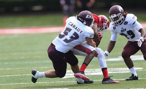 Eastern Kentucky Mba Ranking by Eku Football S Jeffrey Canady Named To Fcs Academic All