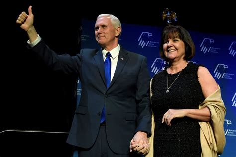 mike pence wife good for mike pence wanting to protect his marriage