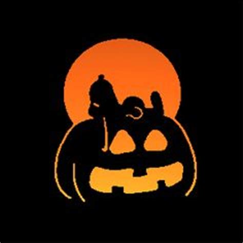 brown pumpkin template on backdrops snoopy and