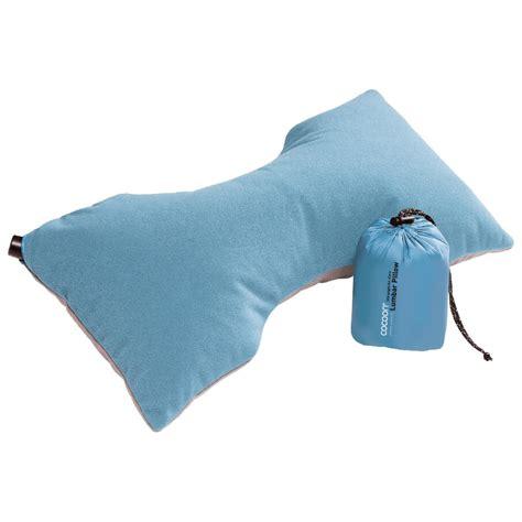 cocoon ultralight air pillow cocoon air pillow ultralight lumbar support pillow