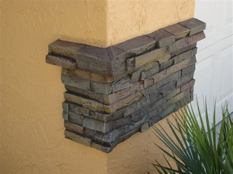 Faux Stone Veneer Accents Overnight   Creative Faux Panels