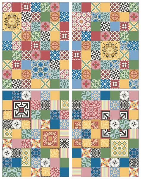 Patchwork Cement Tile - cement tiles patchwork