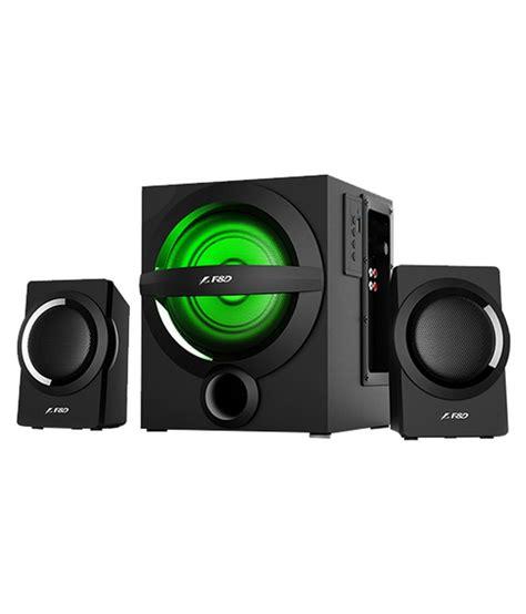 Speaker Bluetooth F D buy f d a140x 2 1 bluetooth speakers black at