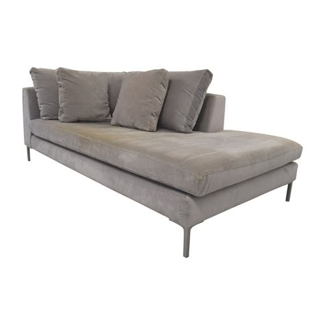 Abc Carpet Sofas by 51 Abc Carpet And Home Abc Right Arm Velvet Chaise