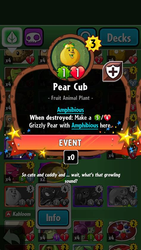 Pvz Heroes Card Template by Pear Cub Plants Vs Zombies Wiki Fandom Powered By Wikia