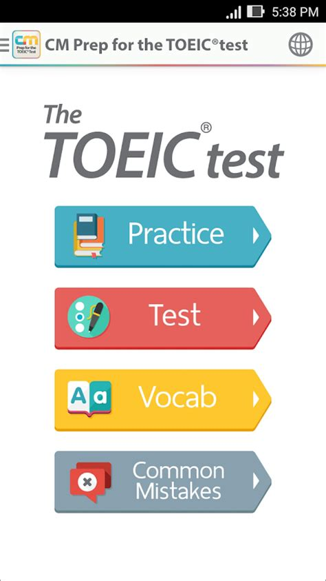 toeic test cm prep for the toeic 174 test android apps on play