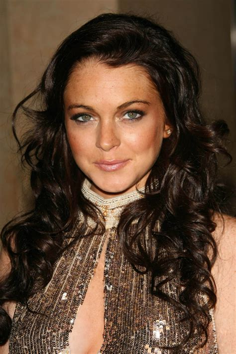 lindsay lohans hairstyles hair colors steal  style