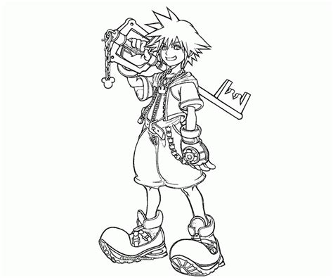 kingdom hearts coloring pages online free printable heart coloring pages az coloring az