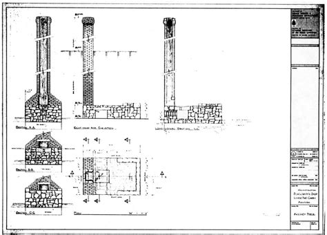 blacksmith shop floor plans fort vancouver nhs historic structures report chapter 5