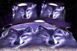 Wolf Bedding Sets Get Cheap Wolf Print Bedding Aliexpress