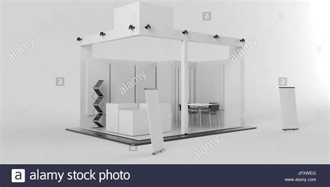 3d booth design template white creative exhibition stand design booth template