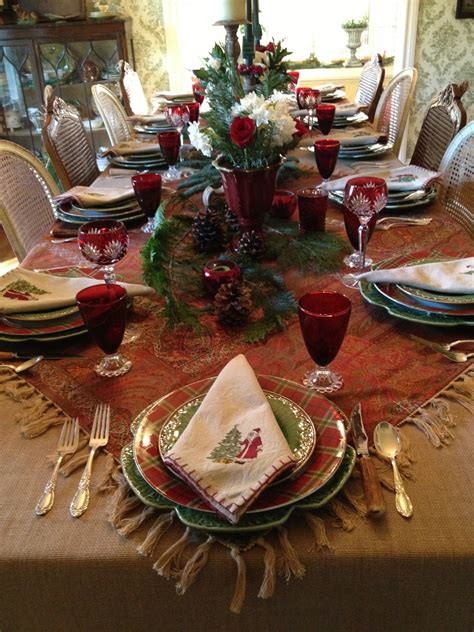 vignette design christmas 2012 tablescape