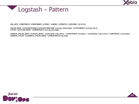 logstash pattern types journ 233 e devops des dashboards pour tous avec