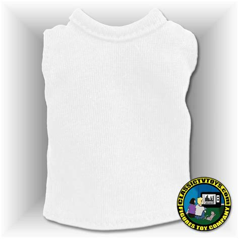 8 inch figure clothes white sleeveless shirt for 8 inch figure