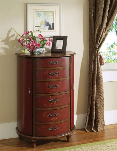 pulaski jewelry armoire pulaski ruby accents jewelry chest 664200 homelement com
