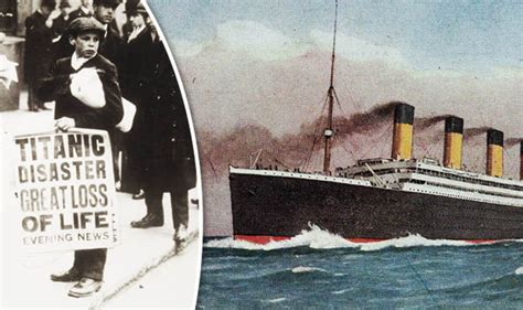 when did the titanic sink when did the titanic sink how many died history