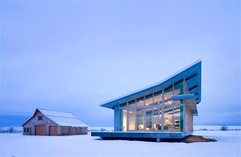 glass farmhouse  olson kundig architects