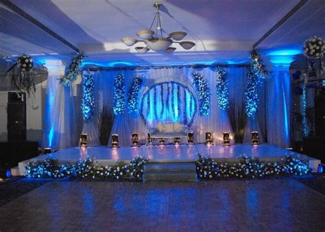 Seating arrangement of Bride and Groom or the Wedding
