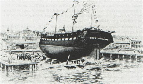 century boats careers history and career of the uss constitution history of
