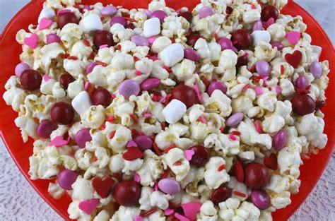 valentines popcorn valentines day popcorn two