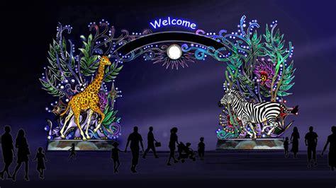 safaripark  baken van licht  donkere wintermaanden tilburgcom