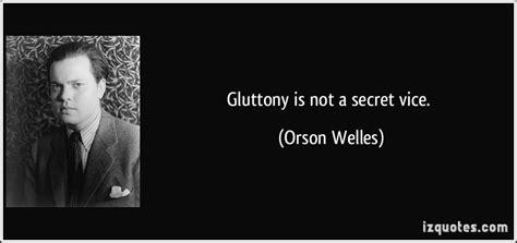a secret vice gluttony is not a secret vice