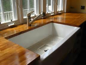 Wood Kitchen Countertops by Design Plus You Wood Countertops In The Kitchen