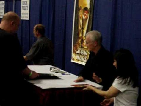 anthony daniels signing dallas comic con 2013 anthony daniels signing autographs