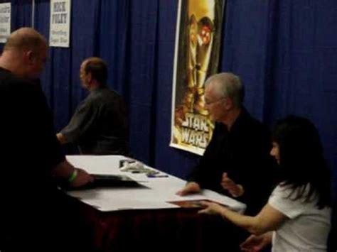 anthony daniels autograph dallas comic con 2013 anthony daniels signing autographs