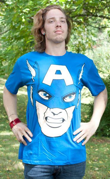 Jumbo Capt America captain america jumbo comic royal blue graphic t shirt for only 163 18 02 at